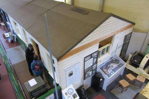 The 2MT hut at Sandford Mill