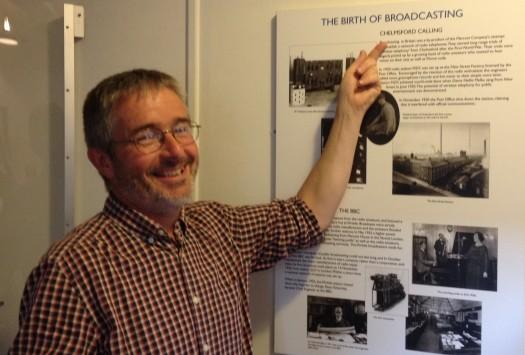 Jim 2E0RMI pointing to his origins...