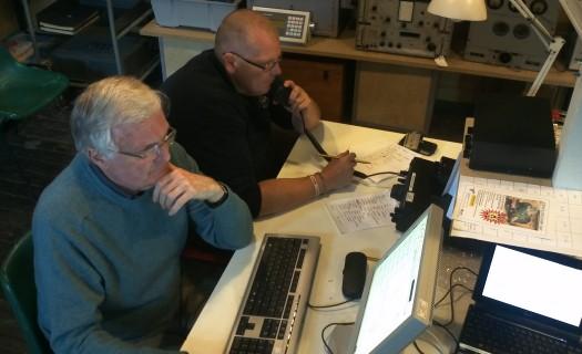 John G1UZD and James 2E1GUA working GB100MWT