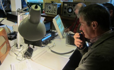 Jim 2E0RMI working callsign GX0MWT from Sandford Mill