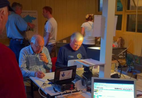 HF broadcasts from Sandford Mill April 2011