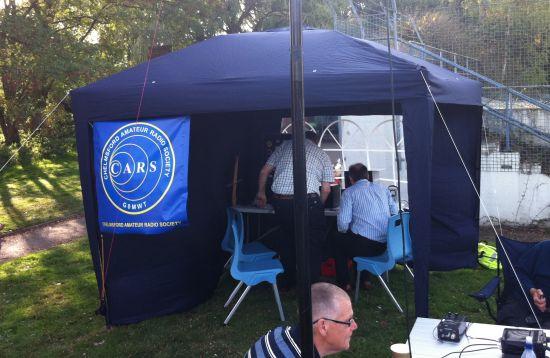 Sandford Mill Sept 2011 - Tent