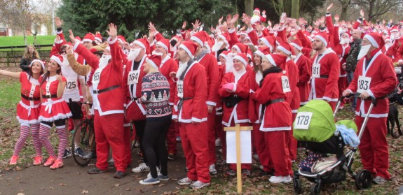 The Farleigh Hospice Santa Selfie 2014