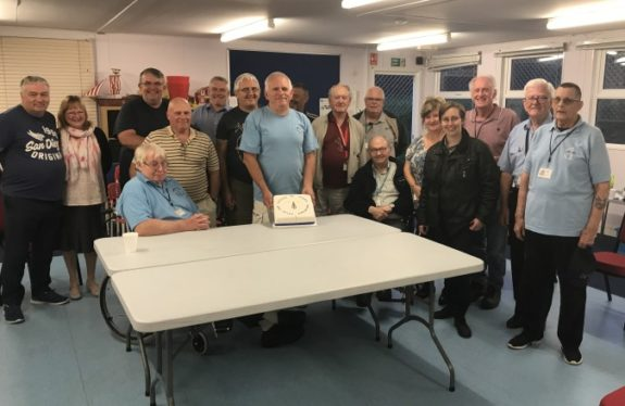 SEARS members celebrating their 35th anniversary