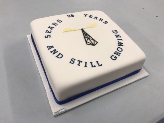 SEARS 35th Anniversary Cake