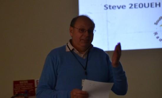 Steve 2E0UEH, talking Training at SEARS