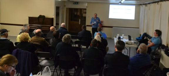 The December 2014 training talk at SEARS in Thundersley