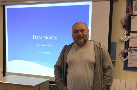 Dave M0TAZ - Talking Data Modes