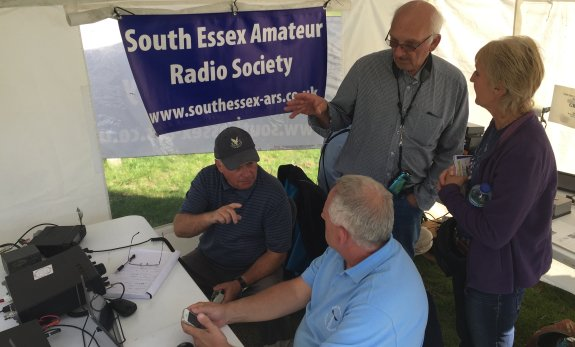 Explaining the world of amateur radio at Bay Museum
