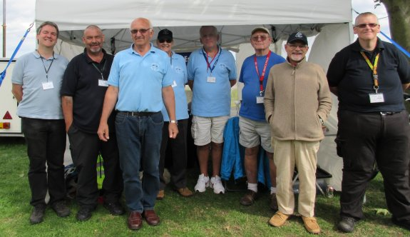 The SEARS team at Canvey Island Yacht Club - August 2014