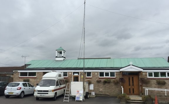 St Ann's Church, home for the GB2CIS JOTA station 2015