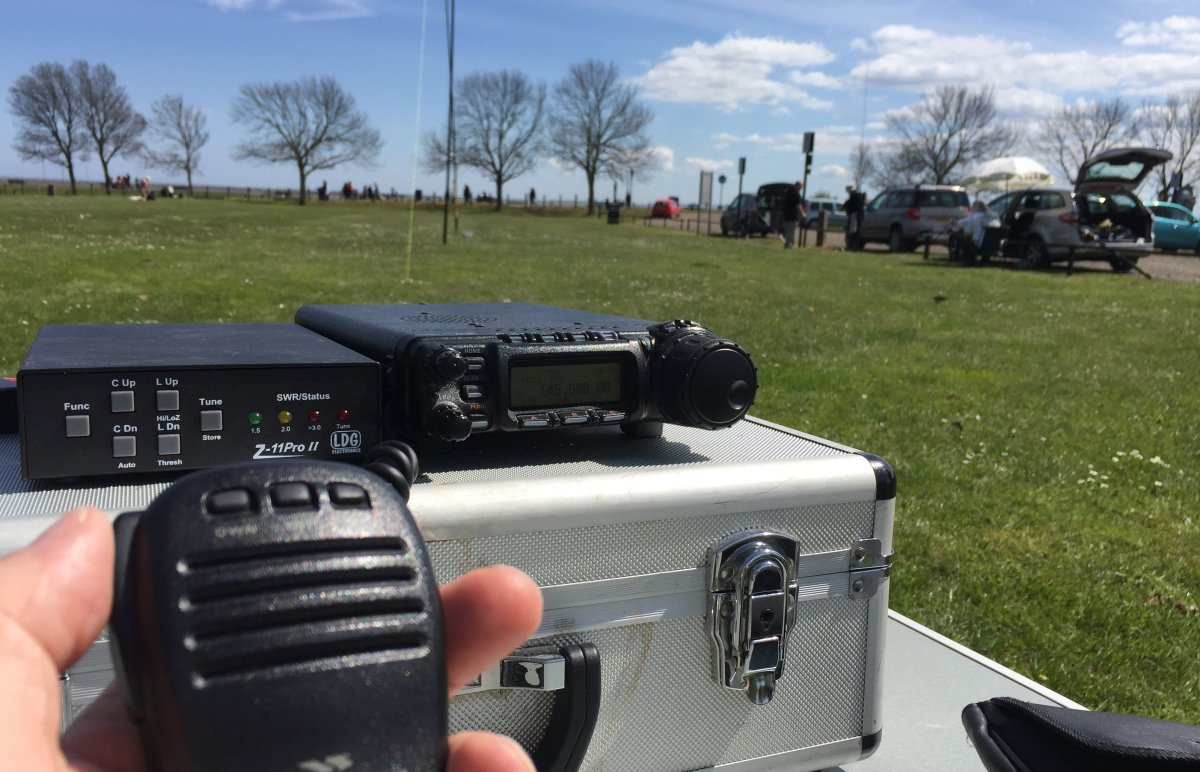 Shoebury Beach Field Event 01 May 2016