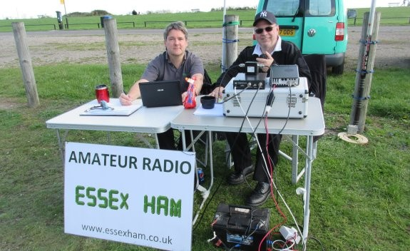 Pete M0PSX and Steve 2E0UEH on the RSGB SSB 2015 Contest