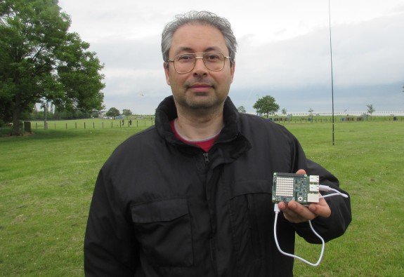 Andy from SOSLUG with the AstroPi