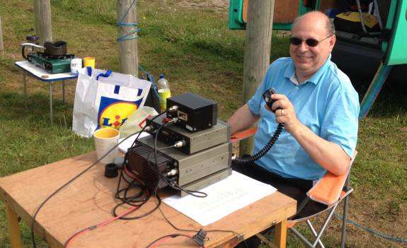 Steve 2E0UEH, pleased with his results on 15m