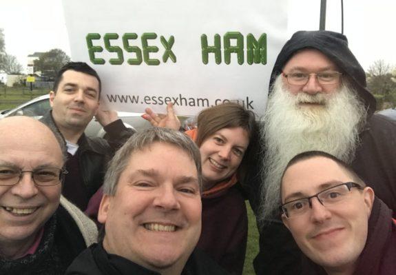 Essex Ham Shoebury Selfie, with obligatory branding