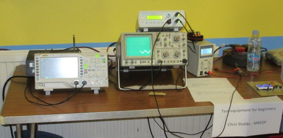 Test equipment from Chris M6EDF