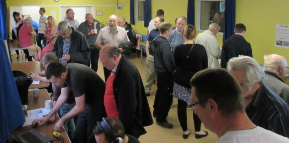 A very busy July 2015 Skills Night with the CARS team in Danbury
