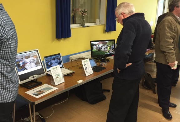Essex Ham - Demonstrating Raspberry Pi, Windows tablets and SSTV from the ISS