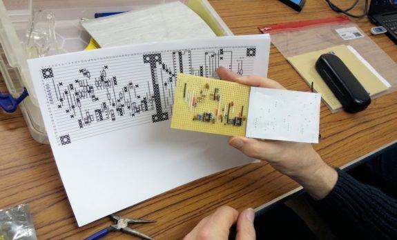 Alan M0IWZ's Arduino SWR meter project