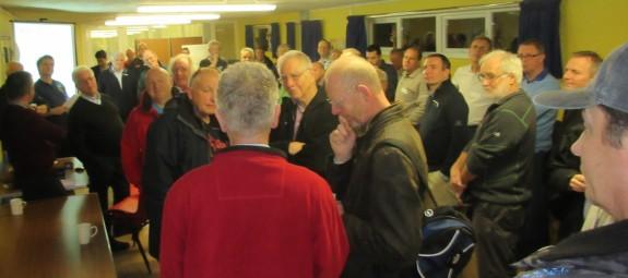 A busy Danbury Village Hall - Skills November 2014