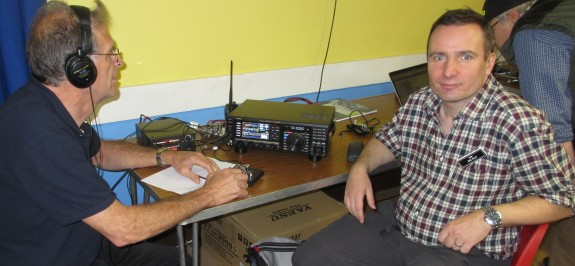 Steve G4ZUL and Rob M0KCP - Live CW on 40m