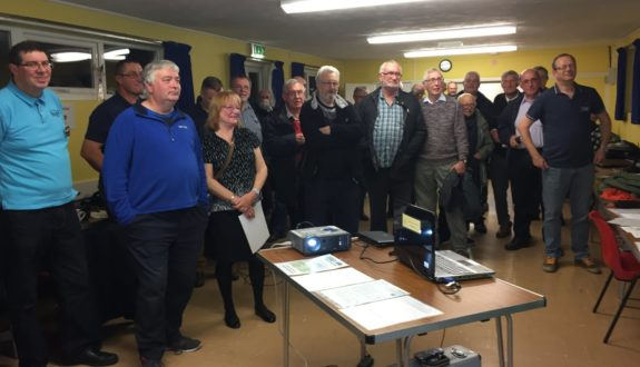 Some of the attendees at the October 2016 Skills Night