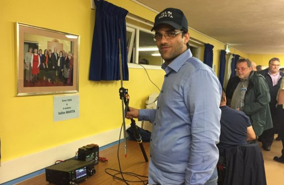 Selim M0XTA at the Essex Skills Night in October 2016