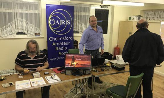 CARS at the October 2017 Experimental Skills Night