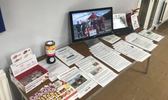 Essex Ham's table at the September 2017 Skills Night