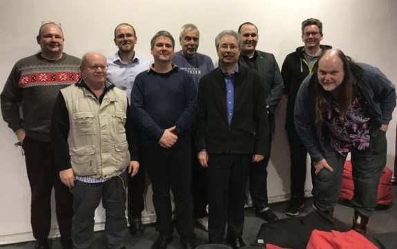 Some of the Southend Digital Professionals in January 2018