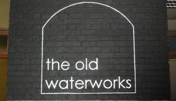 The Old Waterworks Sign