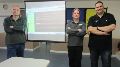 Neil, Pete, Ricky and the PSK31 SuperBrowser