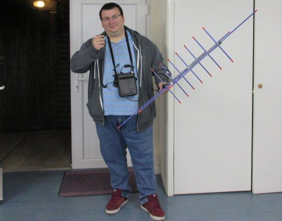 Paul Fuller M0PFX - Satellite /P