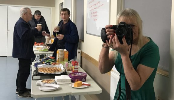 Food and Fotos at the TAARC Xmas Social in 2016