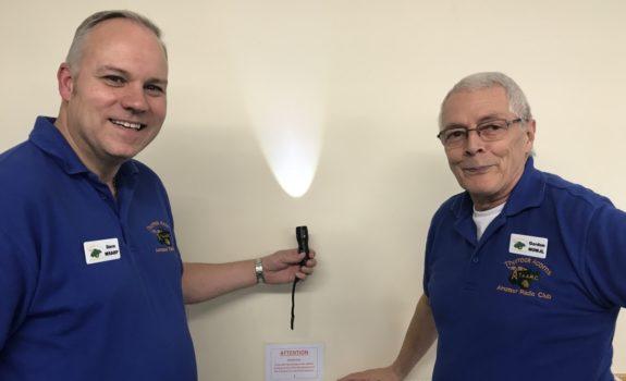 Dave and Gordon, demonstrating propagation