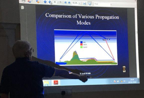 Gordon M0WJL comparing propagation modes
