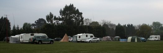 Thames ARG Easter Camping & Caravanning at Crowsheath