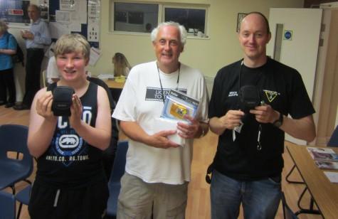 Lloyd, John 2E0ESX and Bruce M0XBS - Raffle Winners