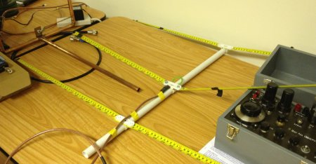 Tape Measure Yagi antenna
