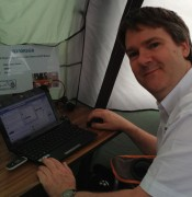 Pete M0PSX, logging G100RSGB