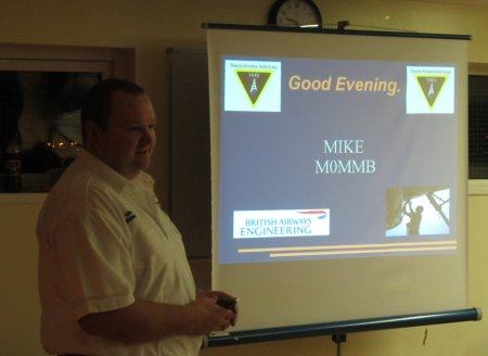 Mike Byrne M0MMB on Aircraft Maintenance