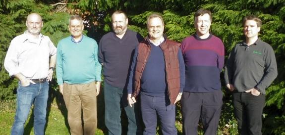 Nick 2E0FGQ, Clive G1EUC, Chris G0IPU, Bob G0FGX, Murray G6JYB & Pete M0PSX