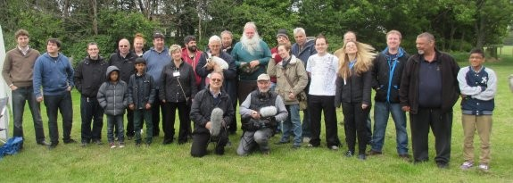 Essex Ham Field Day May 2015 - Group Photo