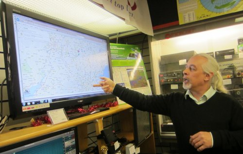 Steve Smith demonstrating SpaceNear.us