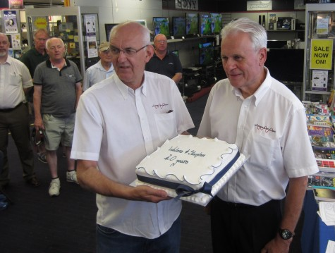 Pete Waters and Jeff Stanton - 40 years!!