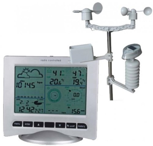 The Watson W-8681-Solar Wireless Weather Station