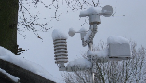 Essex Ham weather station - Snows of Jan 2010
