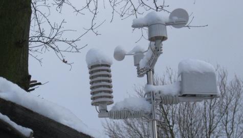 Essex Ham weather station - Snows of Jan 2010