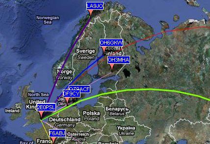 WSPR Map